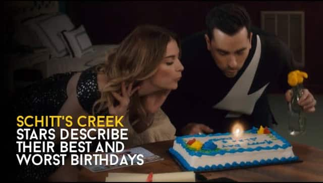 What were the stars' best and worst birthdays? - Schitt's Creek