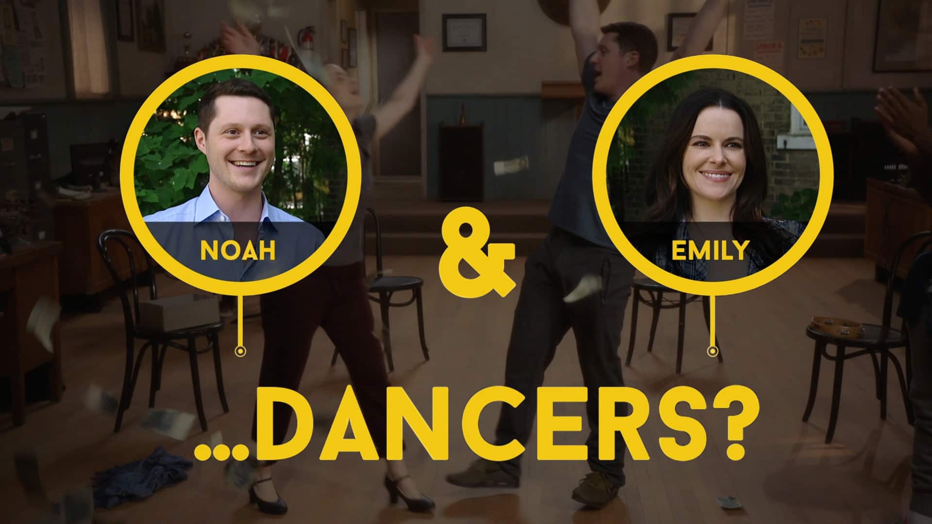 Noah and Emily… dancers?