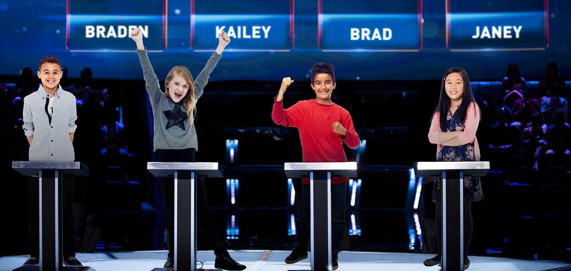 The Canada's Smartest Person Junior stage