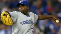 Blue Jays reliever Darren Oliver has put up all-star calibre numbers so far this season. (Tim Umphrey/Getty Images)