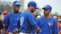 With new acquisitions like Jose Reyes, left, and Maicer Izturis, right, joining Jose Bautista in the lineup, Toronto has the talent on board to snap its two-decade post-season drought. (Al Messerschmidt/Getty Images)