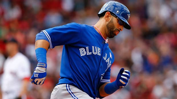 After a slow start, Jose Bautista has recaptured his hitting stroke in the month of May. (Jared Wickerham/Getty Images)