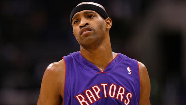 Vince Carter asked out of Toronto, and was traded in December 2004. (Lisa Blumenfeld/Getty Images)