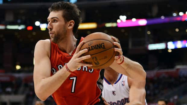Former No. 1 draft pick Andrea Bargnani has been treated roughly this season by Toronto fans. (Harry How/Getty Images)