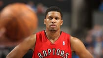 Rudy Gay could be the next high-profile Raptor jettisoned if the team opts for a complete tear-down. (Kent Smith/NBAE via Getty Images)