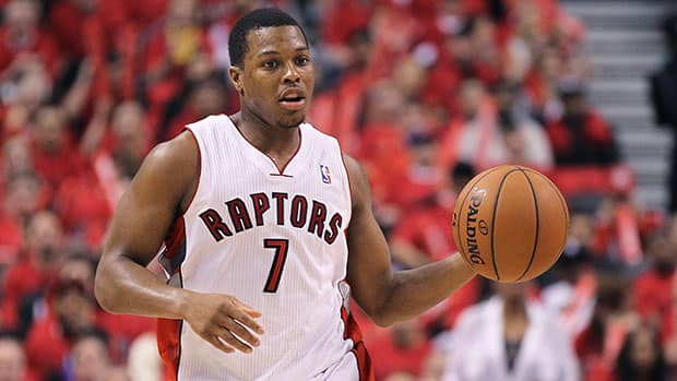 After nearly powering the Raptors into the second playoff round, point guard Kyle Lowry is set to cash in as a free agent. (Claus Andersen/Getty Images)