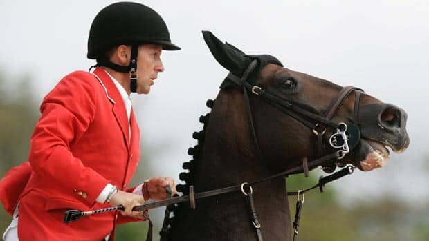 Canadian horse Hickstead, the stallion that helped Eric Lamaze win two Olympic medals in 2008, won more than $3 million in prize money and has his name attached to two Spruce Meadows CN International titles. (Victor R. Caivano/Associated Press)