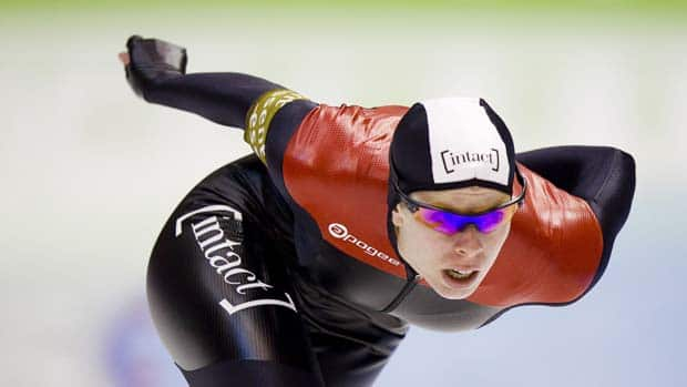 Speedskater Christine Nesbitt has absolutely obliterated her competitors in a campaign that saw her return from a car-bike accident in the summer. (Jerry Lampen/AFP/Getty Images)