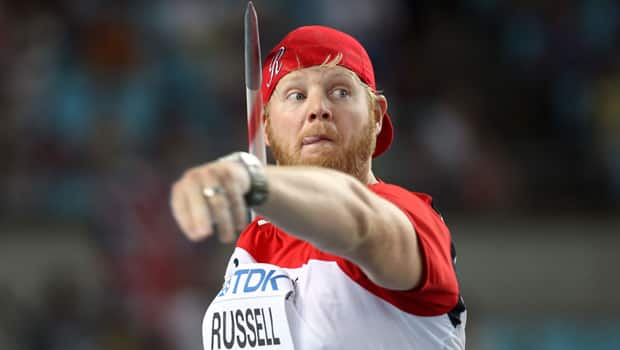 Scott Russell of Windsor, Ont., recently retired having won 11 national titles in men's javelin. (Ian Walton/Getty Images)