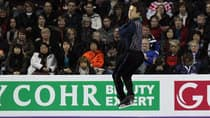 Patrick Chan put on a stunning show in the men's short program on the opening day of the world championships in London, Ont. (Dave Sandford/Getty Images)
