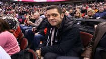 George Stroumboulopoulos attends the 2012 Molson Canadian NHL All-Star Skills Competition on January 28, 2012 in Ottawa, Canada. (Photo by Andre Ringuette/NHLI via Getty Images)