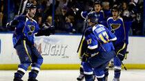 The St. Louis Blues took a 2-0 series lead on the Los Angeles Kings Thursday  night. Jeff (Roberson/Associated Press)