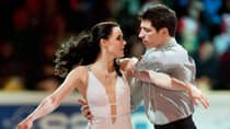 Canadian ice dancers Tessa Virtue and Scott Moir weren't skating, but they were still dressed up this summer. (File/Canadian Press)