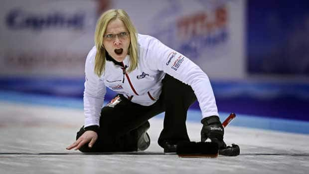 Defending Canadian champion Amber Holland has earned just $900 on the World Curling Tour this season. (Niels Husted/Associated Press)