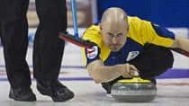 Alberta skip Kevin Koe is looking to win his second Brier title in three years. (Andrew Vaughan/Canadian Press)