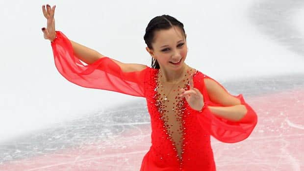 Russian junior champion Elizaveta Tuktamisheva, 14, will make her senior Grand Prix debut at this week's Skate Canada International event in Mississauga, Ont. (Feng Li/Getty Images)