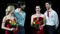 Canadian ice dancers (from left to right), Kaitlyn Weaver, Andrew Poje, Tessa Virtue and Scott Moir, thrilled the home crowd with their performances at the Skate Canada International this weekend. (Paul Chiasson/Canadian Press)