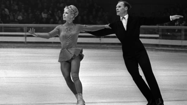 Known as the Protopopovs, Ludmila Belousova, left, and Oleg Protopopov are the grandparents of modern pairs skating, according to CBCSports.ca figure skating analyst Pj Kwong. (Getty Images)