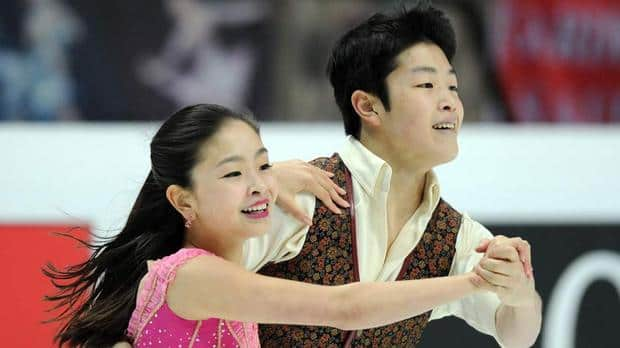 American ice dance siblings Maia, left, and Alex Shibutani proved at last spring's worlds that they've got the technical proficiency to reach the podium, but have they added the necessary artistic chops? (Yuri Kadobnov/AFP/Getty Images)