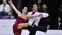 Canada's Tessa Virtue, left, and Scott Moir have never won a Grand Prix Final title. (Paul Chiasson/Canadian Press)