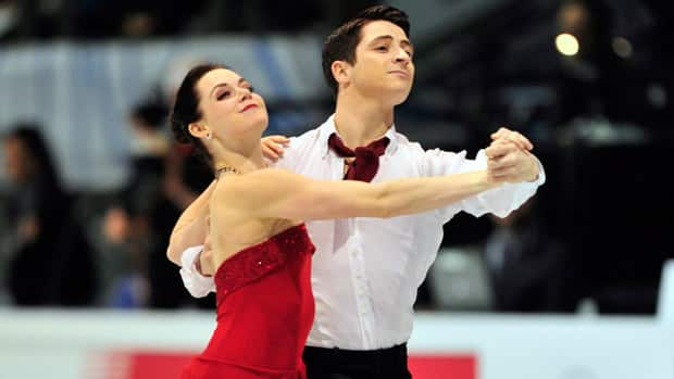 Canadian ice dancers Tessa Virtue, left, and Scott Moir have their sights set on winning the Four Continents title in Colorado Springs, Colo. (Paul Chiasson/Canadian Press)