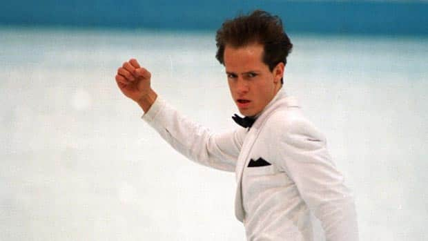 Kurt Browning in 1994 at the Winter Olympics in Lillehammer.  Browning is now returning the to the world of competitive skating.  (Shaun Botterill/ALLSPORT)