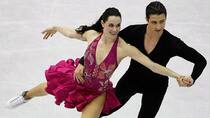 Olympic and world ice dance champions Tessa Virtue and Scott Moir have withdrawn from the Finlandia competition. (Francois Mori/Associated Press)