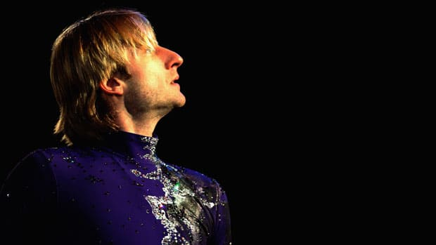 Evgeni Plushenko returned to competition last season with an eye toward the 2014 Olympics in his native Russia. (Dean Mouhtaropoulos/Getty Images)