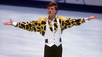 Although Russian Ilia Kulik won the 1998 Olympic gold medal, wearing a white vest over top of a giraffe-like geometric print while skating to Rhapsody in Blue was not one of his best costume decisions. (Ruediger Fessel/Getty Images)