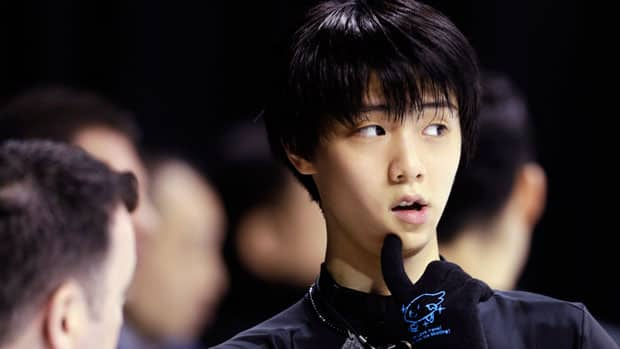 Japanese teenager Yuzuru Hanyu was one of the skaters who impressed Kurt Browning with his practice moves in London, Ont. (Darron Cummings/Associated Press)
