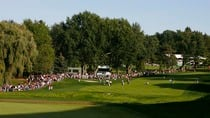 The 18'th fairway fo the Hamilton Golf and Country Club in Ancaster, during the Canadian Open.  (S. Badz/Getty Images)