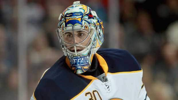 Ryan Miller has earned five wins in the month of March for the Buffalo Sabers. (Jeff Gross/Getty Images)