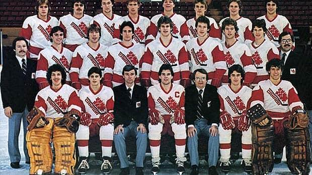 Canadas 1982 World Junior Hockey Team Which Included Scott Arniel Marc Habscheid And The