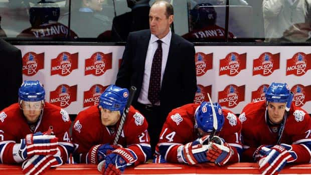 There is some belief that Hall of Famer Bob Gainey, top, was approached about the idea of coaching the Montreal Canadiens. (Ryan Remiorz/Canadian Press)