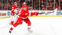 Ian White (18) is having a superb season so far with the Detroit Red Wings. (Dave Sandford /Getty Images)