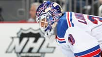 Henrik Lundqvist is 28-12-4 with seven shutouts in 44 games for the Rangers this season. (Christian Petersen/Getty Images)