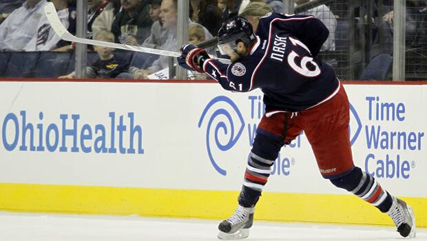 Rick Nash has compiled 277 goals and 547 points in 649 games over nine seasons in Columbus. (Justin K. Aller/Getty Images)