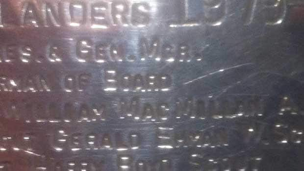 Billy MacMillan got his name etched on the Stanley Cup for his work as an assistant coach with the 1979-80 New York Islanders. (Martyn Bailey/CBC Sports)
