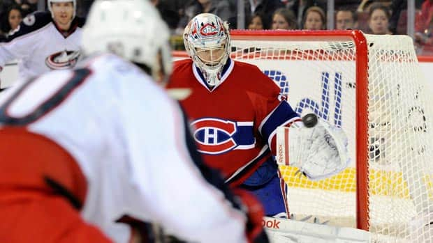 Montreal goalie Carey Price experienced a bumpy first half, but some underlying numbers suggest he may turn it around down the stretch. (Richard Wolowicz/Getty Images)