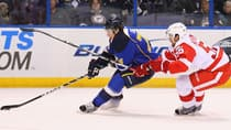 Blues' T.J. Oshie and Red Wings' Niklas Kronwall may not be right at the top of the league in NHL scoring, but they've certainly proven their worth for fantasy owners. (Dilip Vishwanat/Getty Images)