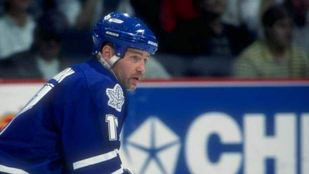 A picture taken in 1997 of Wendel Clark, one of the beloved veterans of the Toronto Maple Leafs.  (Ian Tomlinson /Allsport)