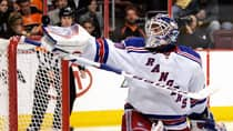 Henrik Lundqvist was a rock for the New York Rangers this year, posting a 1.97 goals against average and picking up 39 wins. (Tom Mihalek/Associated Press)