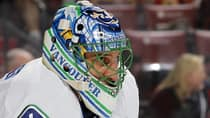 Canucks netminder Roberto Luongo impressed with a 31-14-8 record and five shutouts in 55 appearances this past season. (Joel Auerbach/Getty Images)