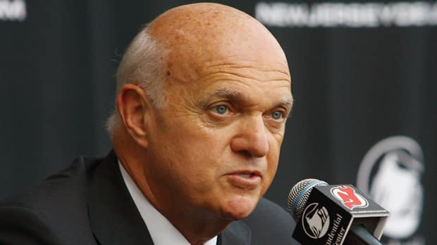 New Jersey Devils general manager Lou Lamoriello says pro scout Bob Hoffmeyer is a good example of how important a solid scouting staff is to a team's success. (Andy Marlin/Getty Images)