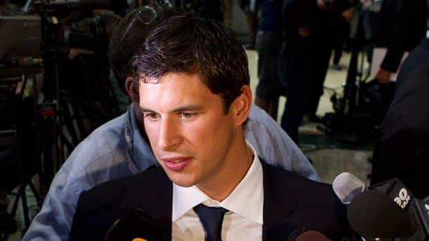 Pittsburgh Penguins star Sidney Crosby was loath to even mention the word lockout Tuesday as he was on hand to support the NHLPA's first official proposal. (Chris Young/Canadian Press)