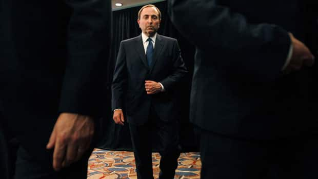 NHL commissioner Gary Bettman is a fine negotiator, but is his presence at the bargaining table preventing progress at this point? (Mary Altaffer/Associated Press)