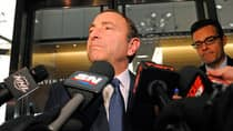 NHL commissioner Gary Bettman and the league filed a class-action complaint against the NHLPA on Friday. (Bruce Bennett/Getty Images)