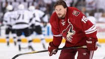 Phoenix Coyotes captain Shane Doan remained loyal and re-signed with his team this off-season. (Christian Petersen/Getty Images)