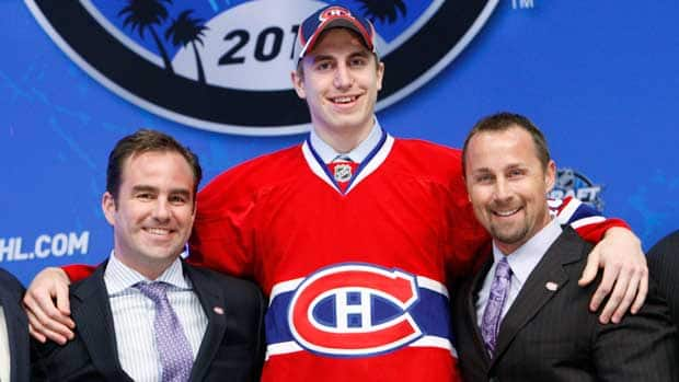 The Montreal Canadiens chose defenceman Jarred Tinordi with the 22nd selection in the 2010 NHL Entry Draft. (File/Associated Press)