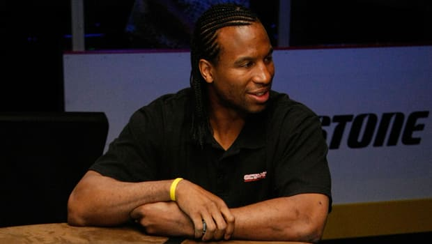 Former NHL enforcer George Laraque is poised to step down as executive director of the troubled CHL Players' Association.  (Ethan Miller/Getty Images)